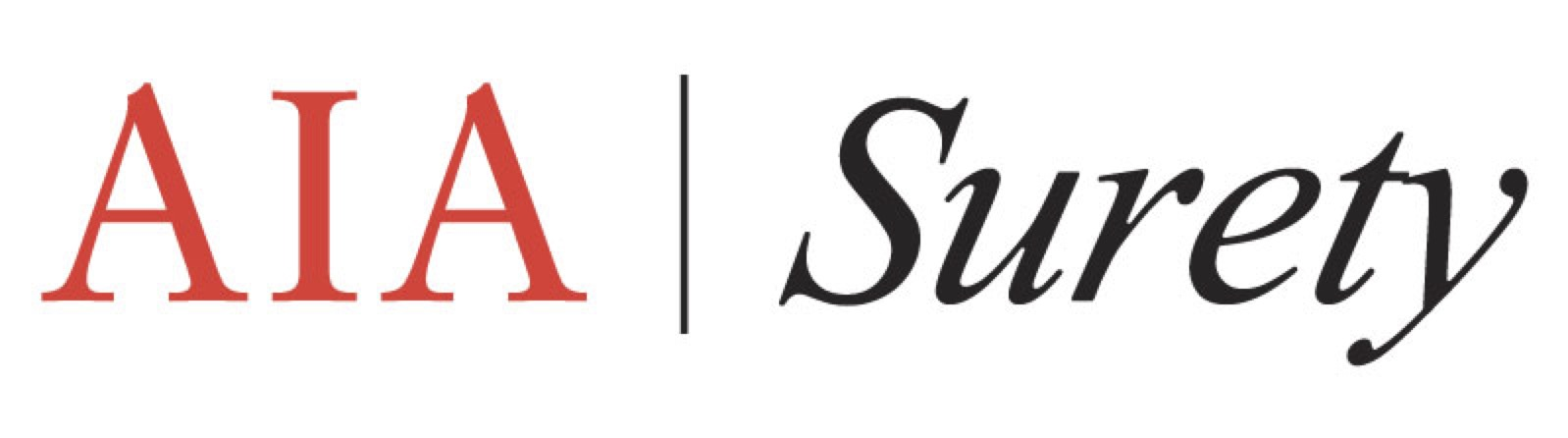 Aia Surety Red Logo